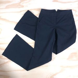 Theory Nettoya Navy Blue Trousers; size 00 career